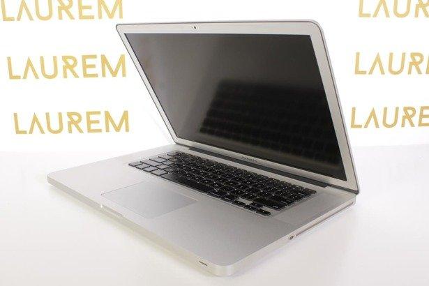 APPLE MACBOOK PRO A1286 i7-620M 4GB 500GB 330M OSX