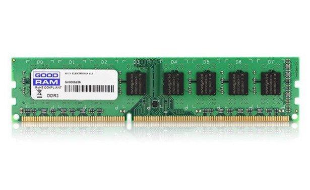 Bestseller: Pamięć RAM GoodRam 8GB DDR3 1333MHz OEM
