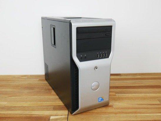 DELL T5400 E5430 8GB 500GB HDD NVS WIN 10 HOME