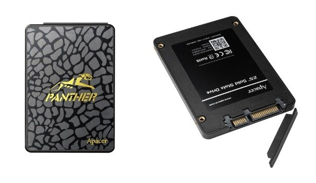"DYSK SSD APACER PANTHER AS340 240GB 2,5"" TLC"