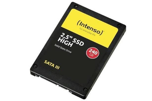 DYSK SSD INTENSO 240GB HIGH PERFORMANCE 2,5'' SATA III TLC