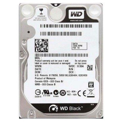 """DYSK TWARDY WD BLACK 2,5"""" 320GB SATA 7200RPM"""