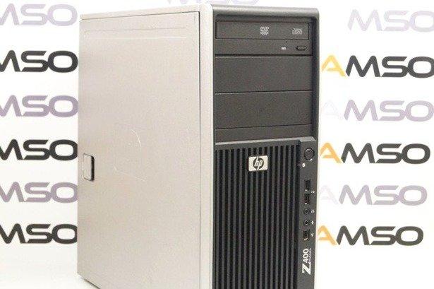 HP WorkStation Z400 W3520 4x2.66GHz 12GB 500GB DVD NVS Windows 10 Home PL