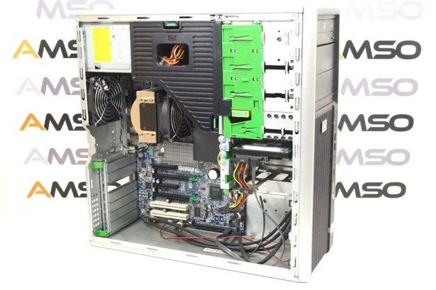 HP WorkStation Z400 W3520 4x2.66GHz 6GB 480GB SSD DVD NVS