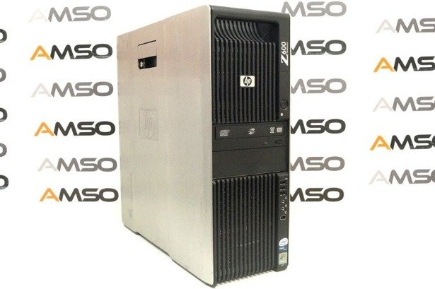 HP WorkStation Z600 E5620 4x2.4GHz 12GB 480GB SSD NVS DVD Windows 10 Professional PL