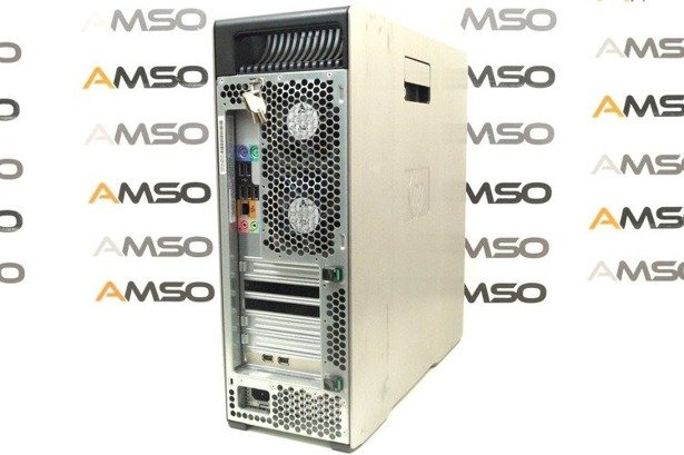 HP WorkStation Z600 E5620 4x2.4GHz 8GB 240GB SSD NVS DVD Windows 10 Home PL