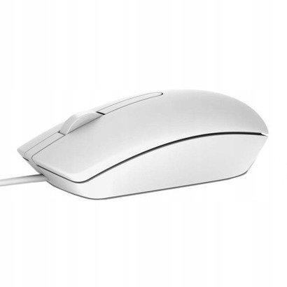 Nowa Mysz Optyczna USB Dell MS116p biała