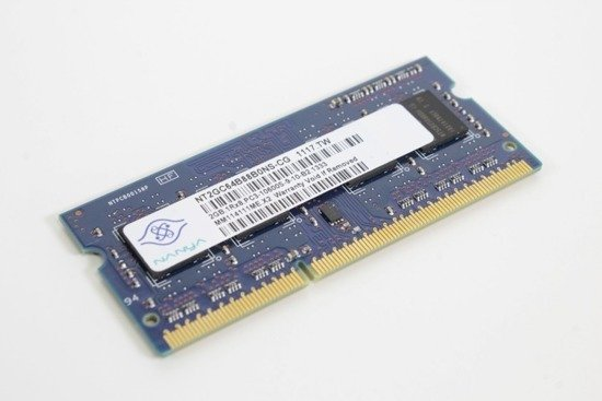 PAMIĘĆ RAM NANYA 2GB DDR3 1333MHz SODIMM