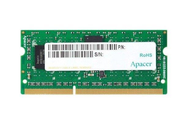 Pamięć RAM APACER 8GB DDR3 1600MHz SODIMM OEM