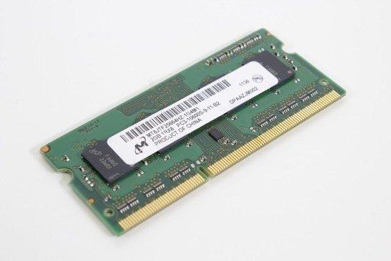 Pamięć RAM MICRON 2GB DDR3 1333MHz SODIMM Laptop