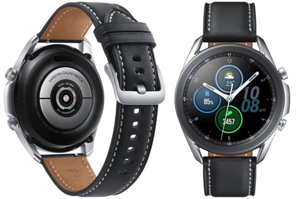 """Smartwatch Samsung Watch 3 R840 45mm Black 1.4"""" SUPER AMOLED Sport"""