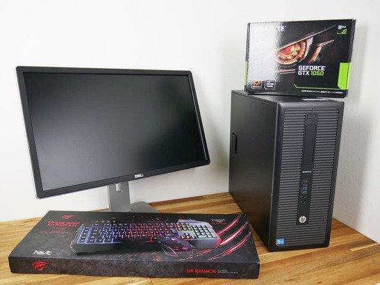"ZESTAW HP 800 G1 i5 8/240SSD WIN10 + DELL 24"""